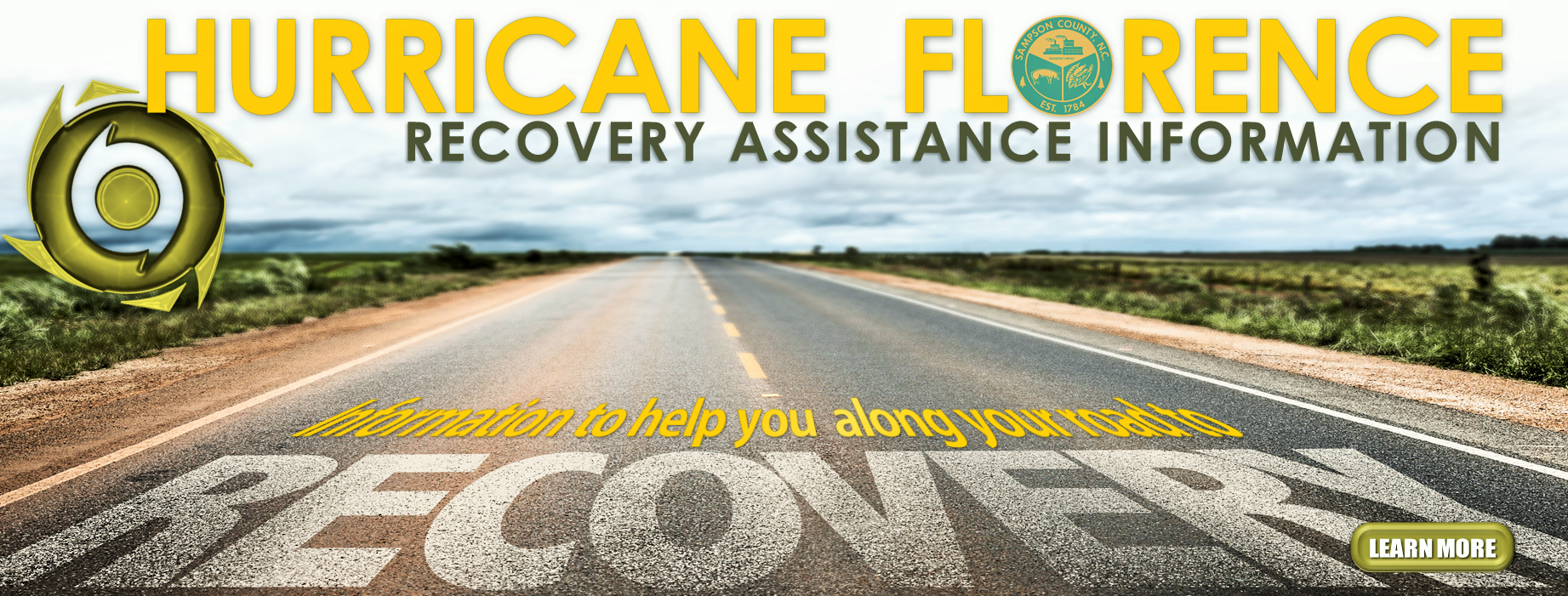 florence recovery assistance banner