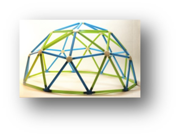 Maker camp at the library the cora j - The geodesic dome in connecticut call of earth ...