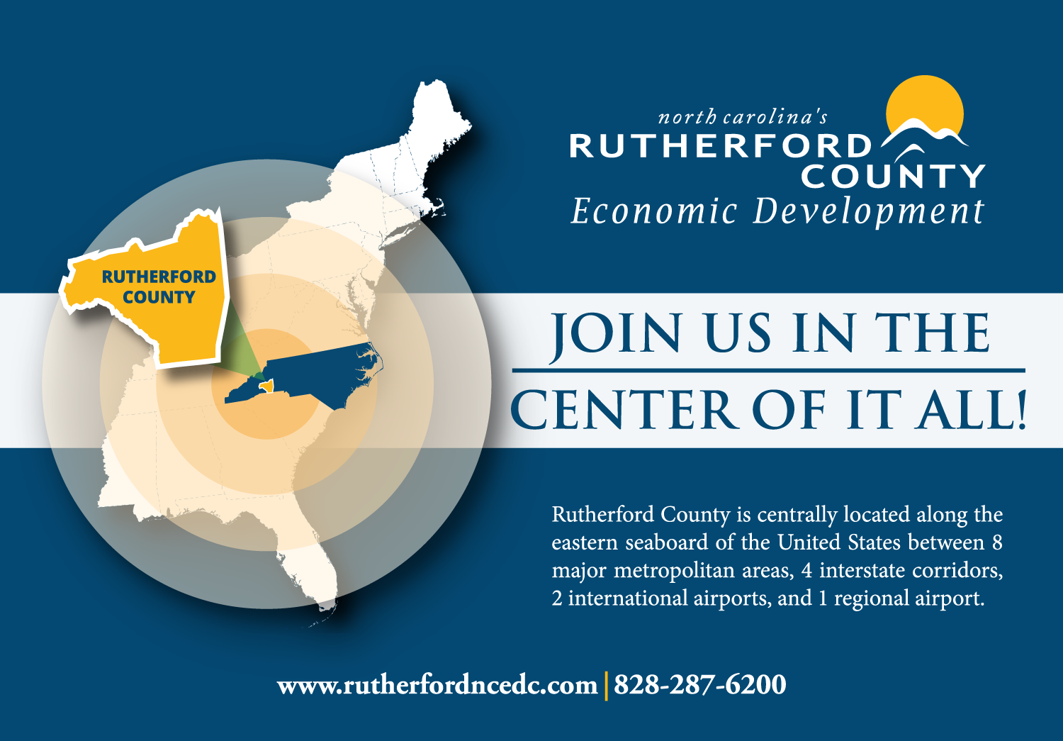 RC Ad in the EDPNC 2015-16 NC Econ Dev Guide