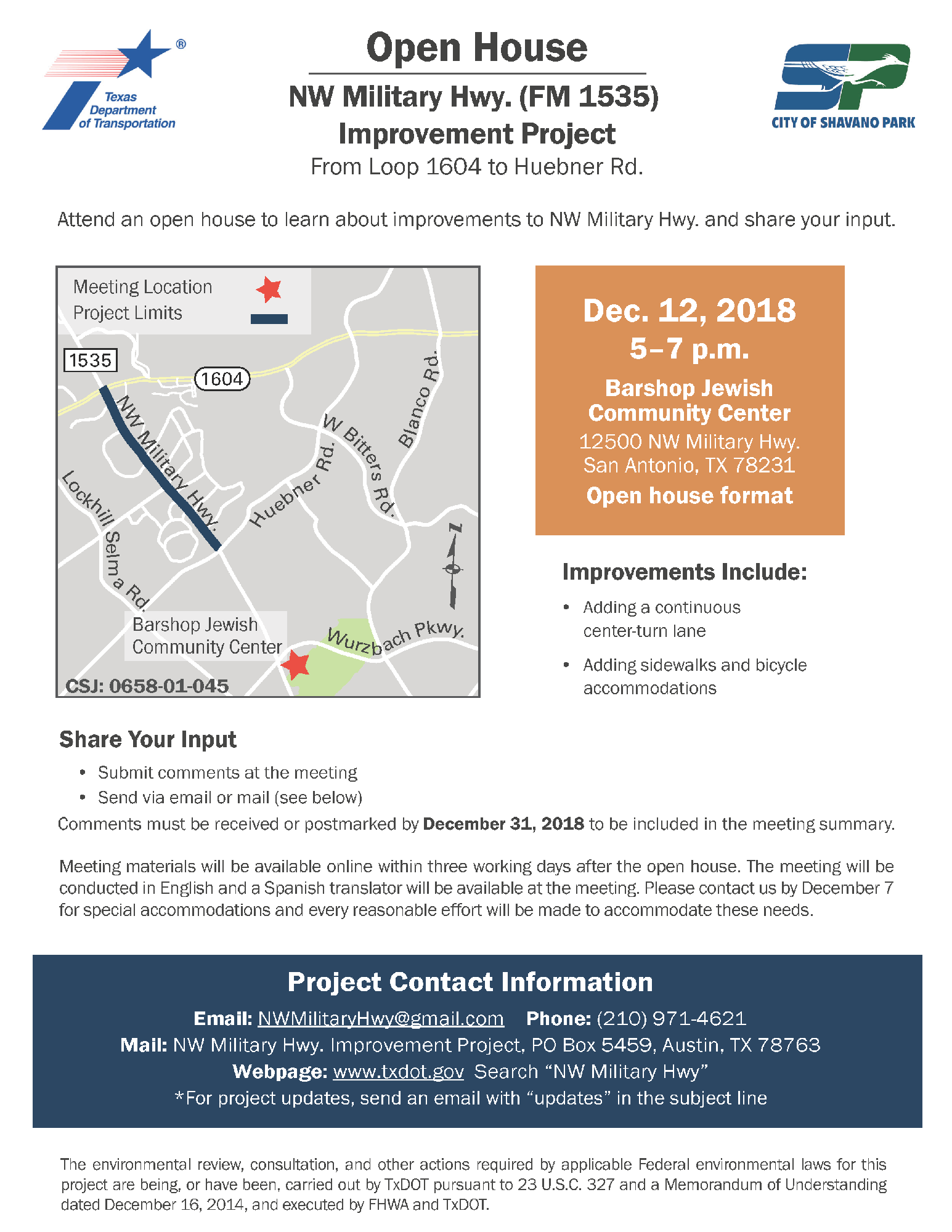 7a TxDOT Open House Flyer_Page_1