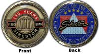 Sesquicentennial Coin Front & Back