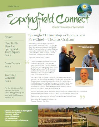 Springfield Connect Newsletter Fall 2014