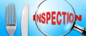 Restaurant Inspections button