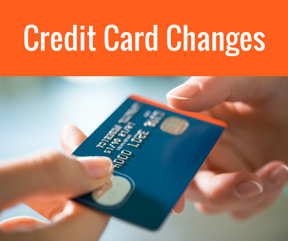 Credit Card Changes