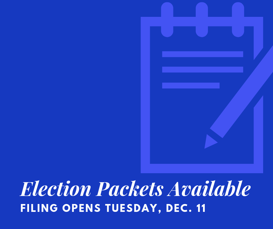 Election Packets Available
