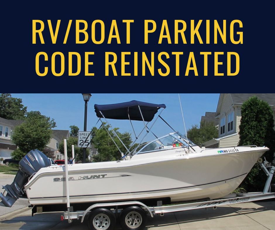 RV_Boat code reinstated