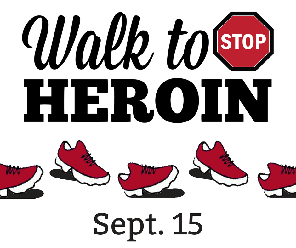 Walk to Stop Heroin - Web Graphic