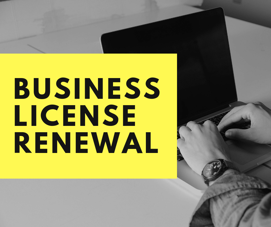 business license renewal