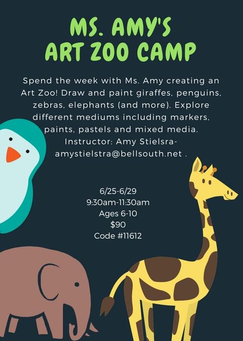 Art Zoo Flyer