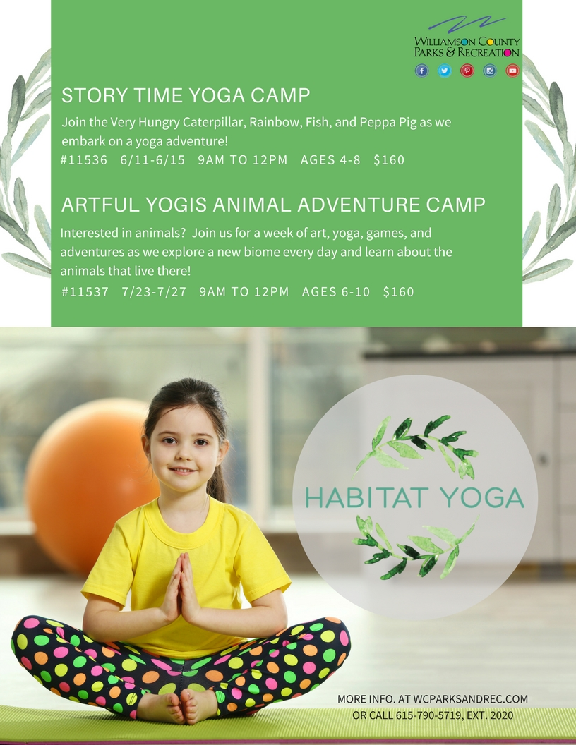 SUMMER HABITAT YOGA