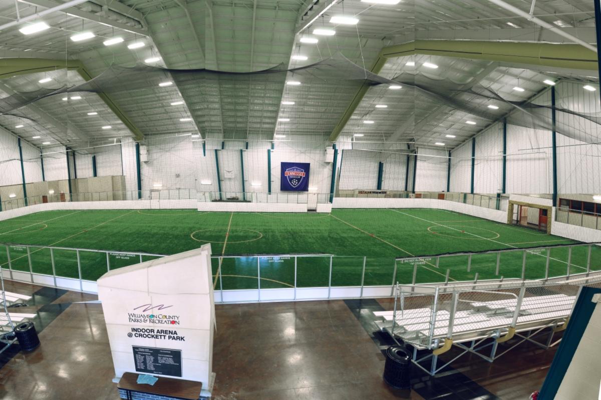 Indoor Arena At Crockett Park