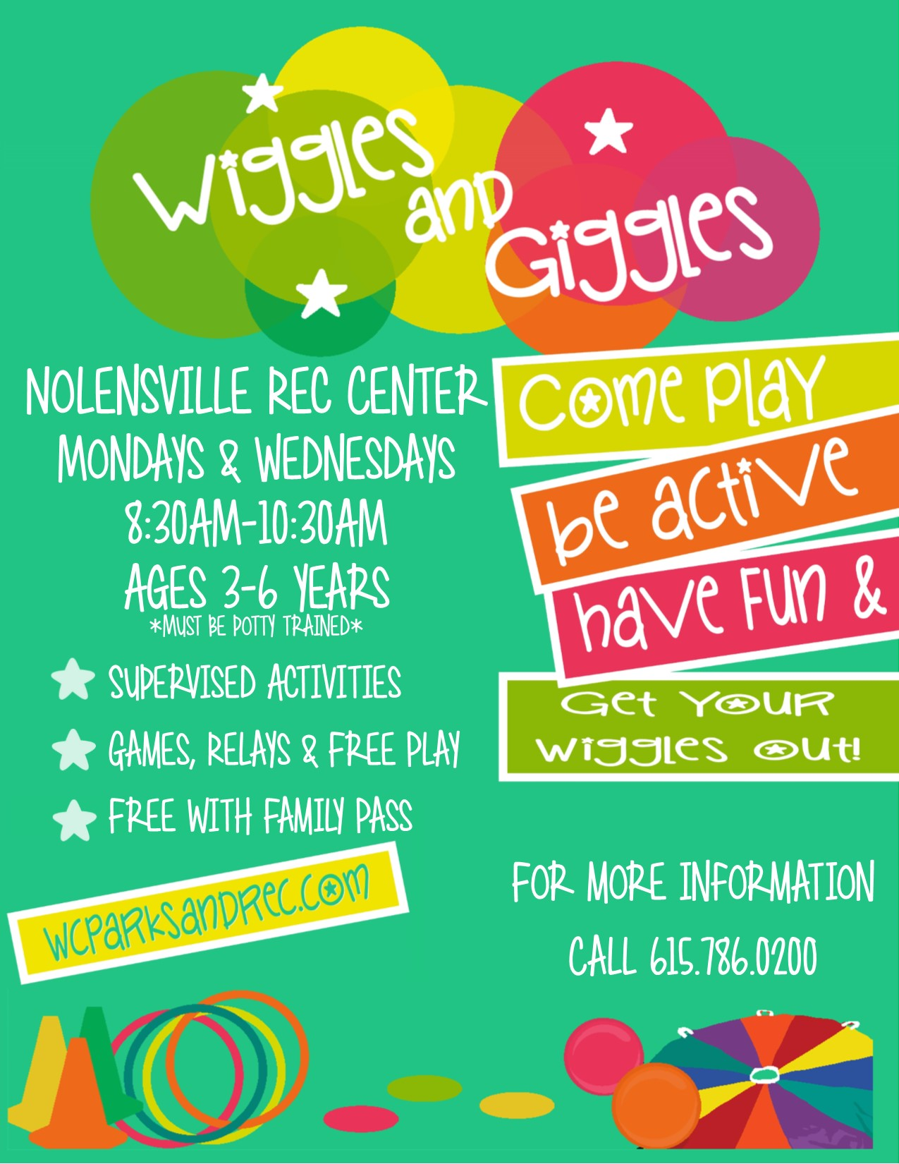 Wiggles and Giggles Winter Flyer