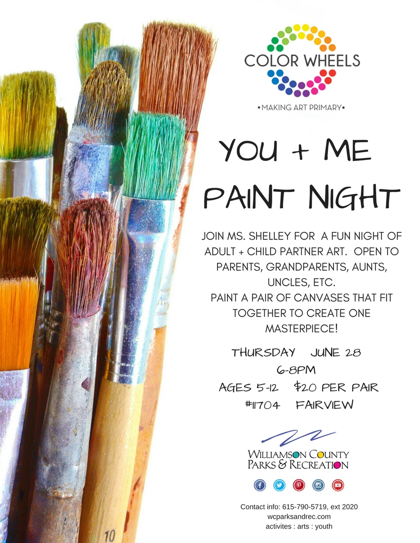 You   Me Paint Night FV