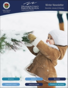 Newsletter cover Winter