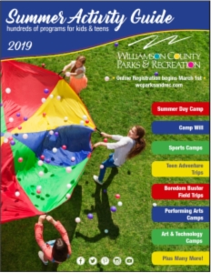 Summer Activity Guide  cover