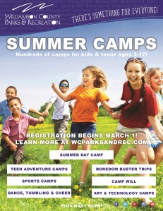 WCPR Summer Camp Newsletter cover