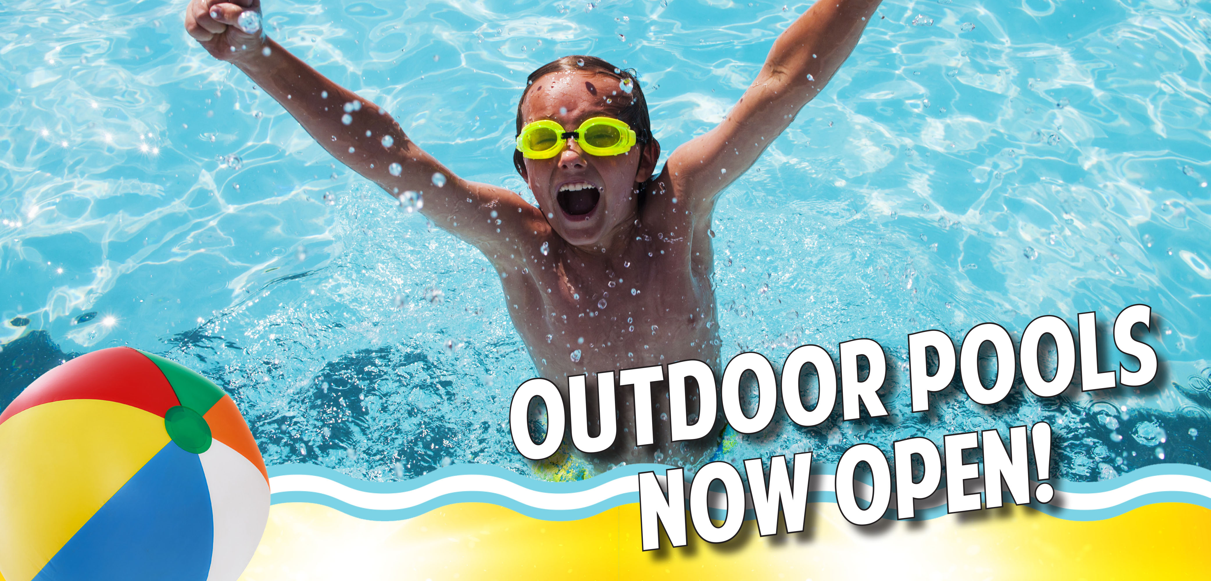Outdoor Pools Now Open
