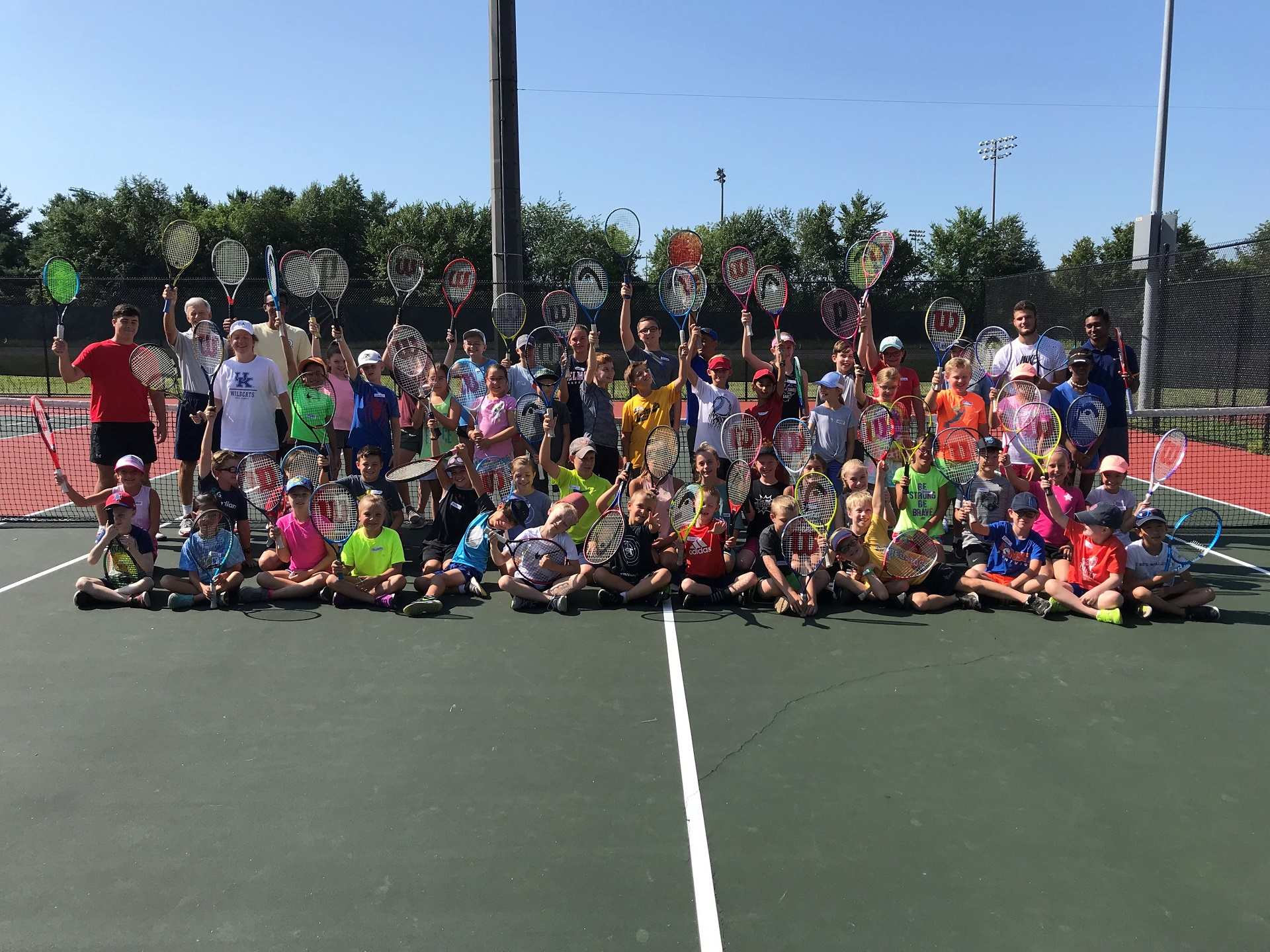 Summer Sports Camp tennis