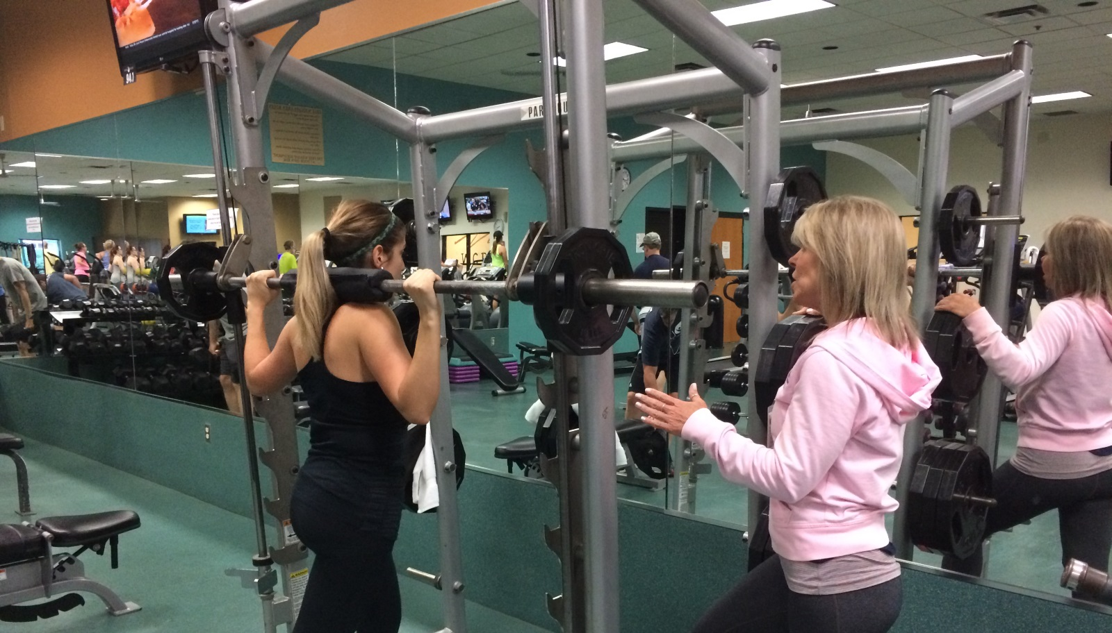 Theresa Mascolo Personal Training Session