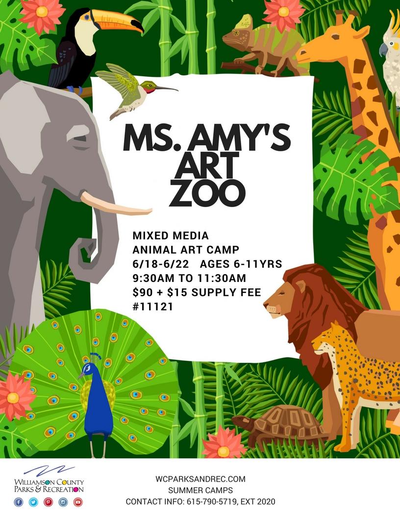 summer MS  AMY ART ZOO
