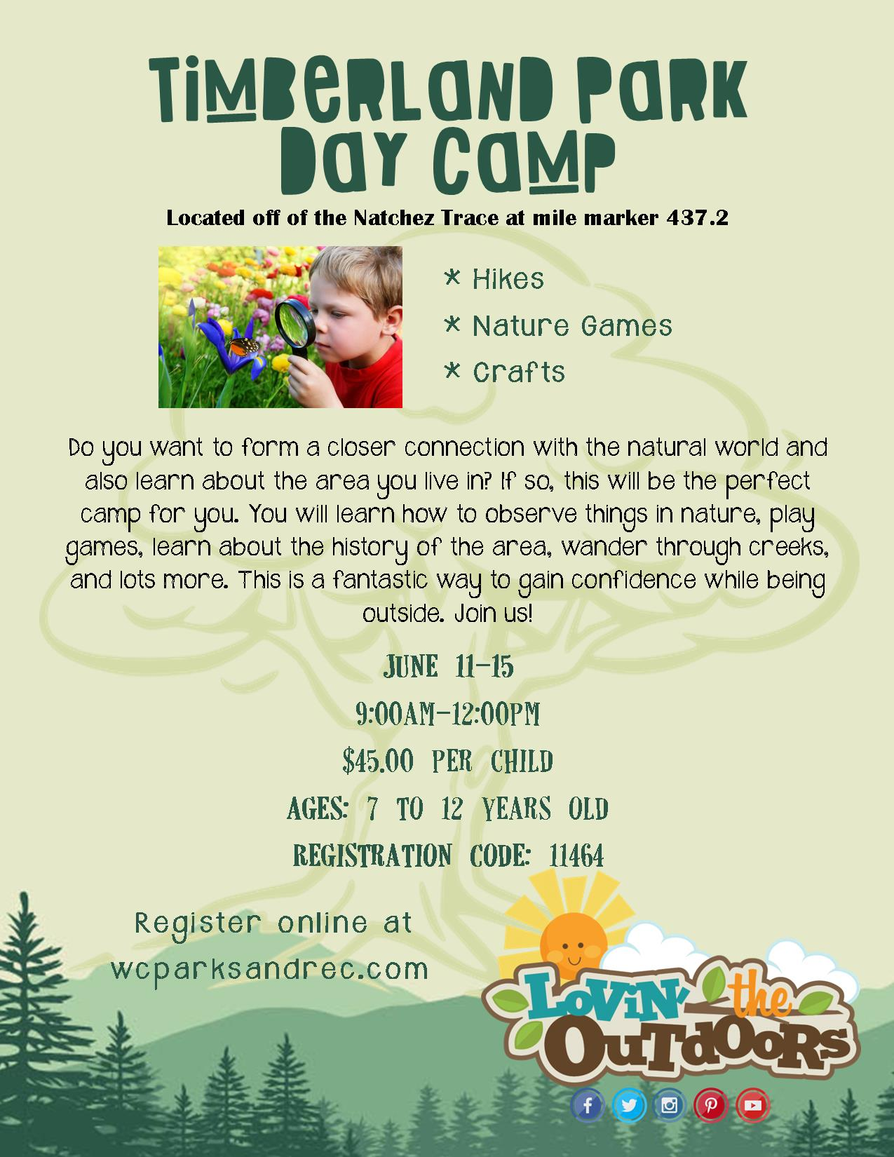 timberland day camp