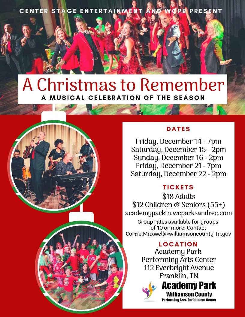A Christmas to Remember Flyer_2