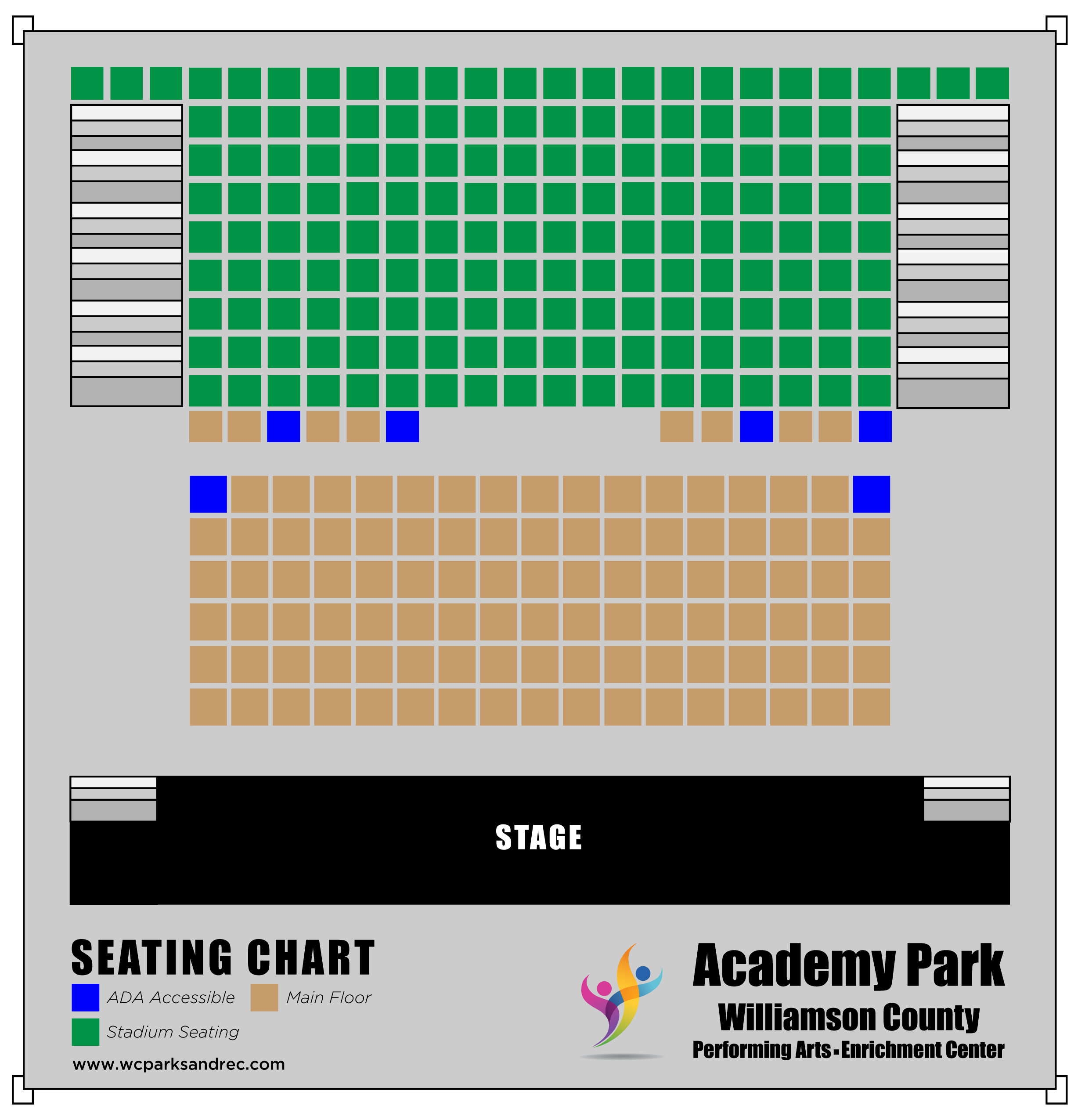Academy Park Seating Chart
